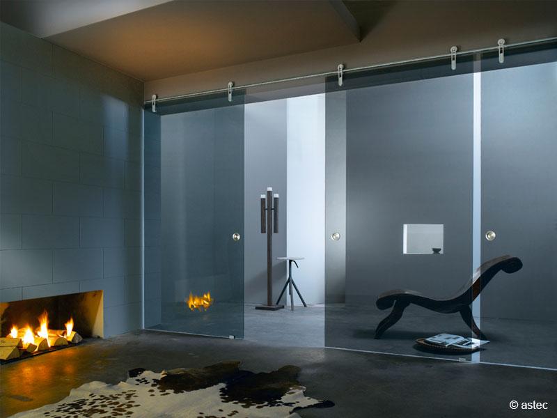 glasschiebet ren und elegante glastrennwand m nchen. Black Bedroom Furniture Sets. Home Design Ideas
