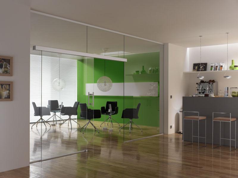 glast ren glasschiebet ren und glastrennw nde nach ma glaserei salzinger. Black Bedroom Furniture Sets. Home Design Ideas